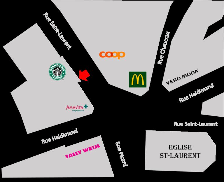 Physiothérapie & massage RME @ Rue Saint-Laurent 19